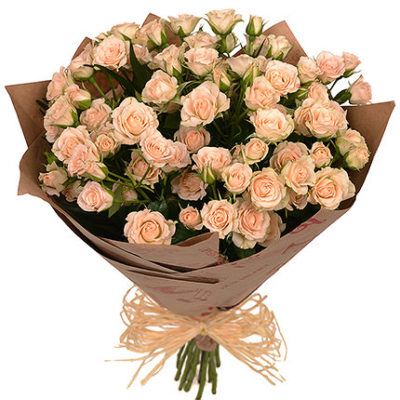 Букет из 15 роз спрей «Грация»
